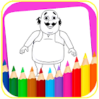 Coloring book Motu Pàtlu icon