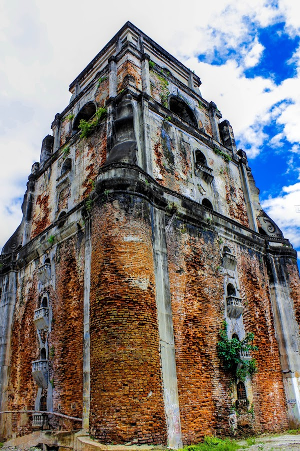 bell tower laoag by Diofel Dagandan - Buildings & Architecture Architectural Detail