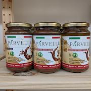 Chocolate-Hazelnut-Coffee Spread by Parvelle