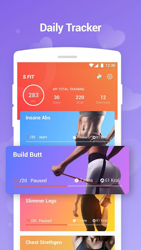 Sfit – Easy Workout, Bodybuild, Exercise at home