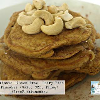 Ultimate Gluten Free Dairy Free Pancakes (GAPS, SCD, Paleo).