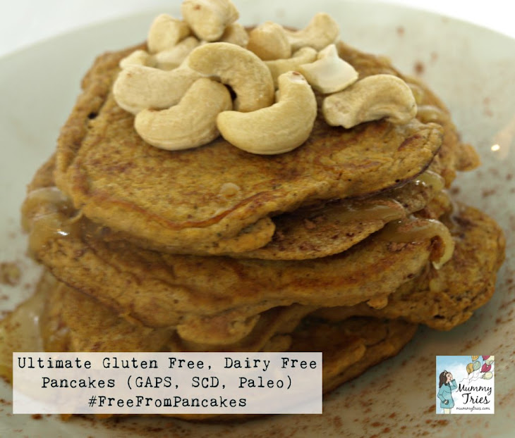 Ultimate Gluten Free Dairy Free Pancakes (GAPS, SCD, Paleo)