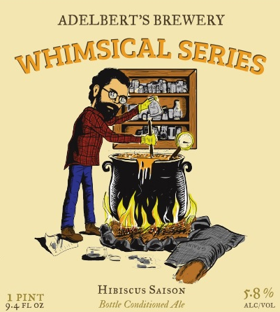 Logo of Adelbert's Whimsical Series: Hibiscus Saison