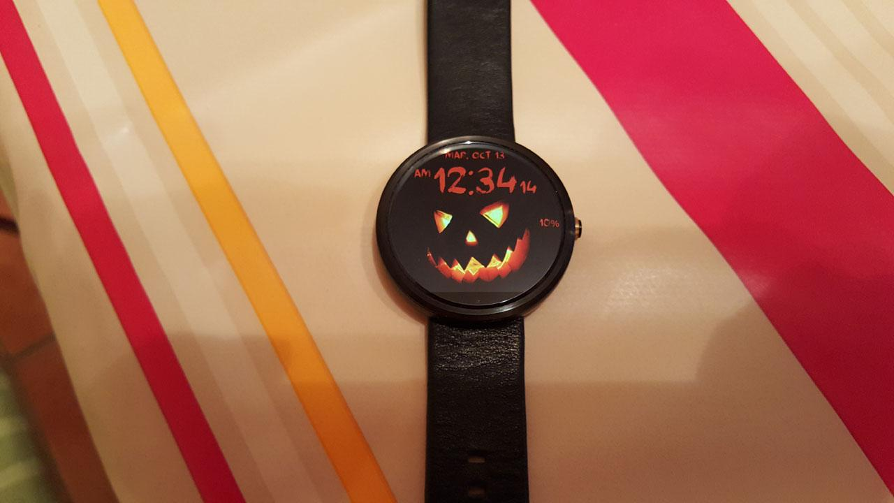 Halloween Watch Face- screenshot