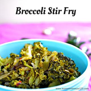 Curried Broccoli Stir Fry Recipes