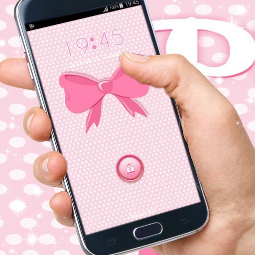 ピンクの弓ロッカー 個人化 App LOGO-硬是要APP