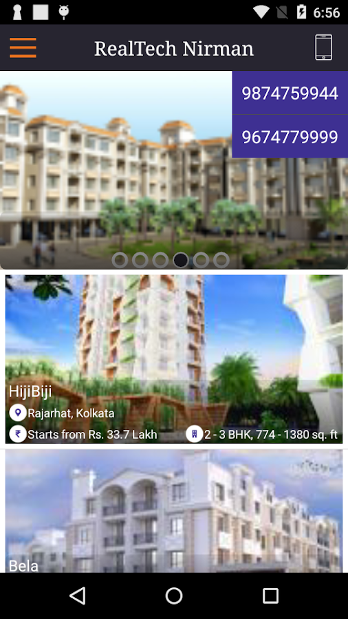Realtech Nirman- screenshot