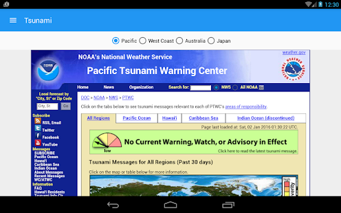 Earthquake+ Map, Info, Alerts- screenshot thumbnail