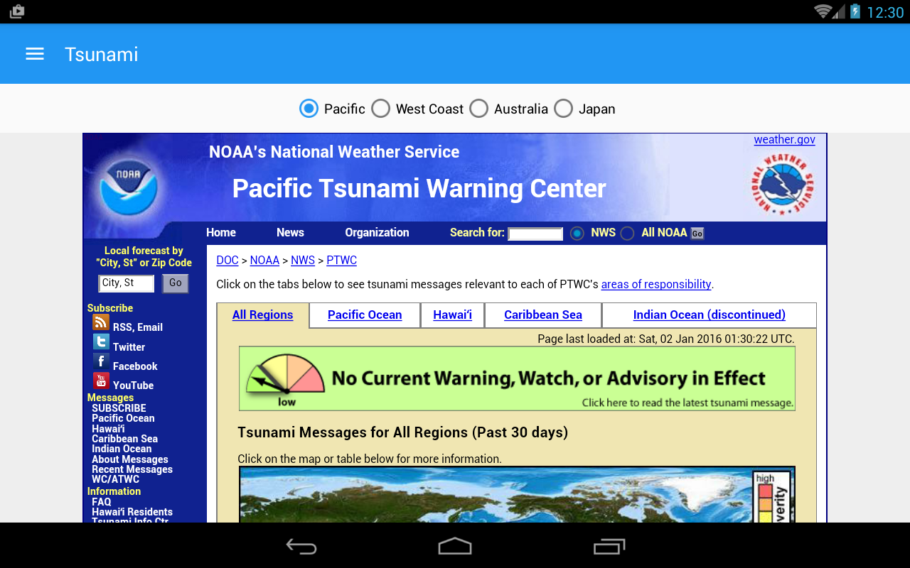 Earthquake+ Map, Info, Alerts- screenshot