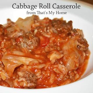 Cabbage Roll Casserole Recipes.