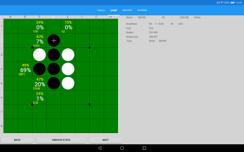 SaioApp - The strongest Othello engine Screenshot 7