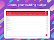 screenshot of MyWed ❤️ Wedding Planner with Checklist and Budget