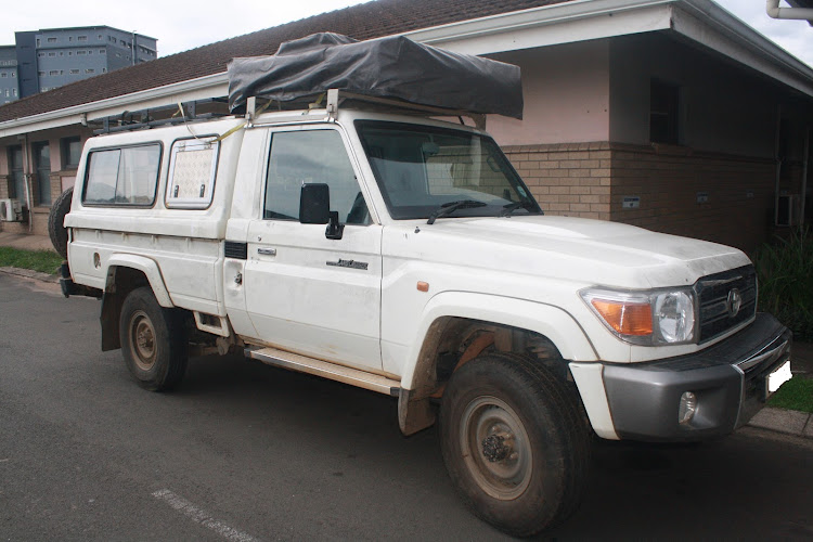 The Land Cruiser 4x4 used by a missing British couple which, sources say, is a central cog of the investigation into their whereabouts.