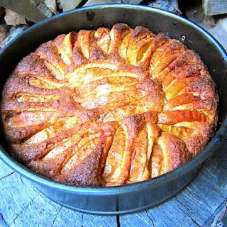 First Apple Cake of the Season