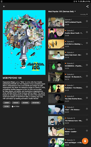 Crunchyroll 2.6.0 screenshots 15