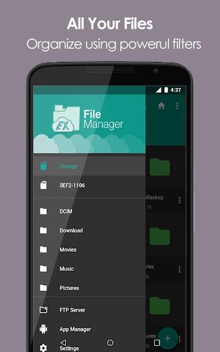 EX File Explorer File Manager 1.0 screenshots 2