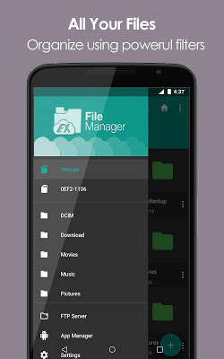 EX File Explorer File Manager - screenshot