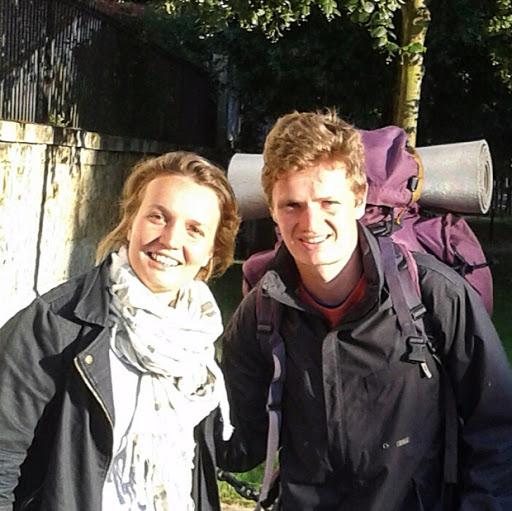 Raphaëlle et Wandrille M. à la Course des 2 châteaux pour L'Arche
