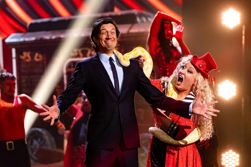 Exclusive – Vernon Kay has a close encounter with a snake in first-look Game of Talents clip