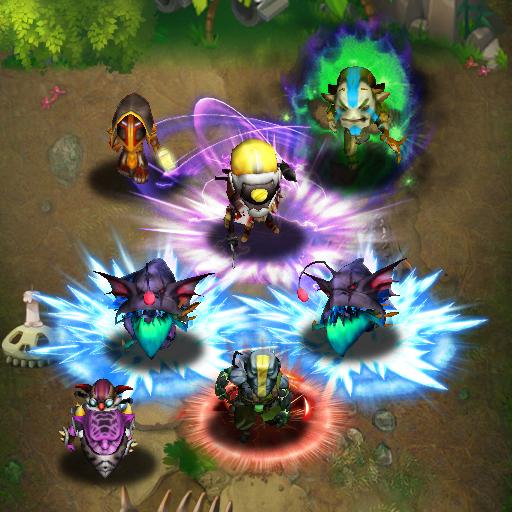 Element defender : Heroes Tap