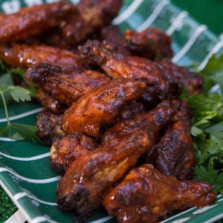 Southern Barbecue Chicken Wings.