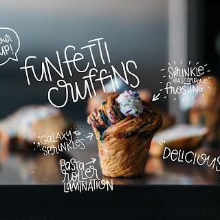 Funfetti Cruffins