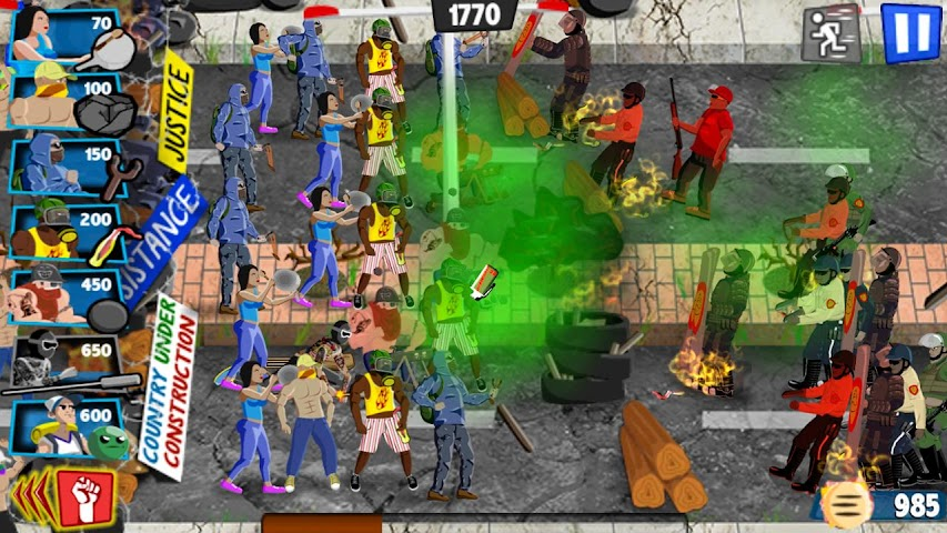 android Guarimba: A Town's Revolt Screenshot 6