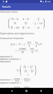Linear Algebra Calculator Apk 5