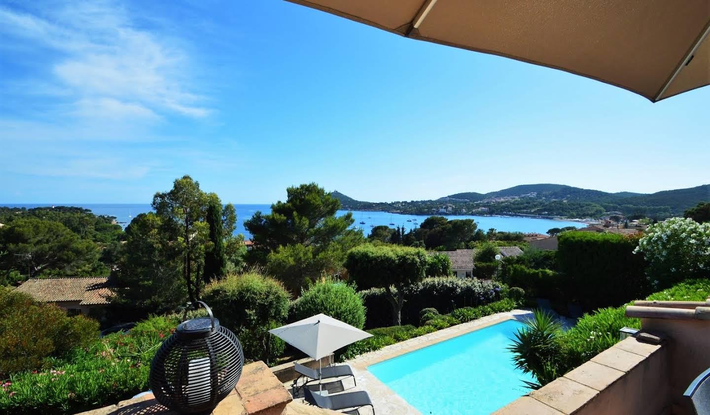 Villa avec piscine en bord de mer Agay