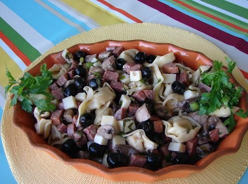 Quick Summer Tortellini Salad