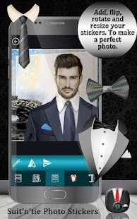 Suit 'n' Tie Photo Stickers - náhled