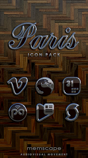 PARIS Icon Pack- screenshot thumbnail