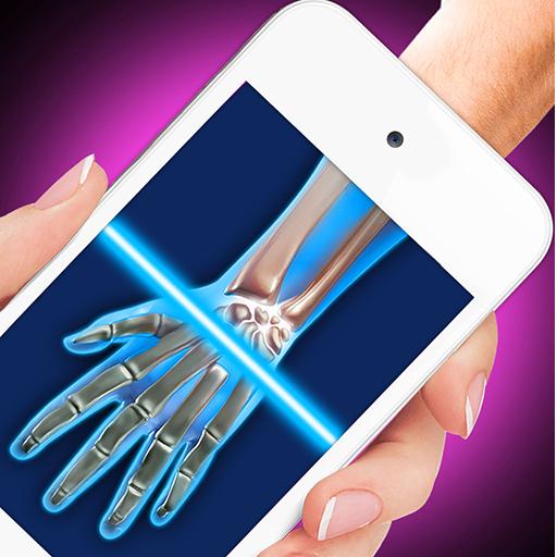 X-Ray Full Hand Simulator Joke Icon