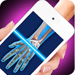 X-Ray Full Hand Simulator Joke Icon
