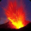 Volcano Live Wallpaper Fire icon