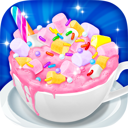 Unicorn Hot Chocolate - Dream Food Making Games for PC