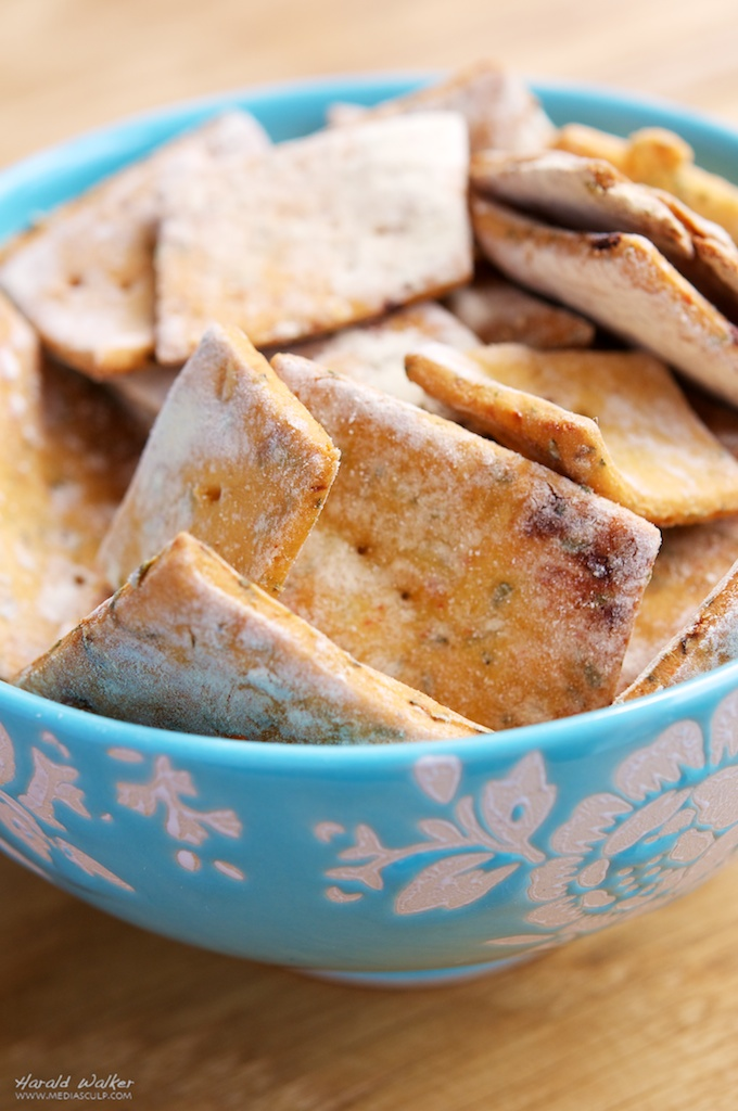 Photo: Spicy Chickpea Crackers