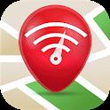 Free WiFi App: passwords, hotspots icon