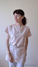 Photo: блуза-туника-поплин