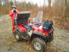 Photo: Sat, May 14/11 SBC ATV Day - Jim Baird, getting ready for coffee break
