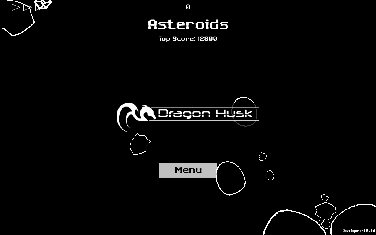 Asteroids- screenshot