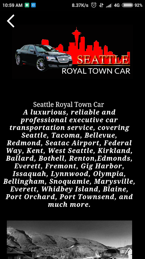 Seattle Royal Town Car- screenshot