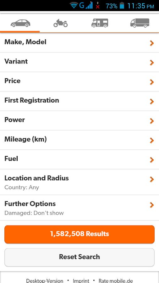 gebrauchtwagen deutschland android apps on google play. Black Bedroom Furniture Sets. Home Design Ideas