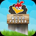 Woodpecker Hangman Trivia Game icon