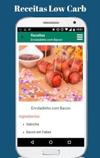 Receitas Low Carb em Português - náhled