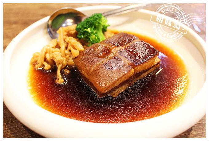 貳哥食堂 菜干東坡肉$200