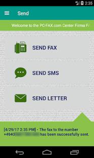 PC-FAX.com CustomerCenter - náhled