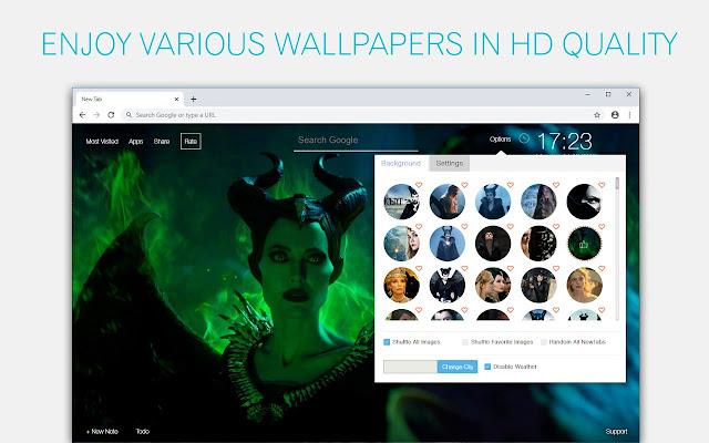 Maleficent 2 Wallpaper HD Custom New Tab