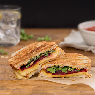 Roasted Beet and Gouda Grilled Cheese Sandwich Recipe