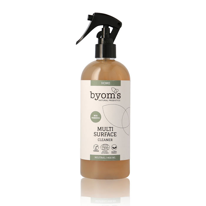 BYOMS 3008 - PROBIOTIC MULTI-SURFACE CLEANER – NEUTRAL - ecocert 400 ml
